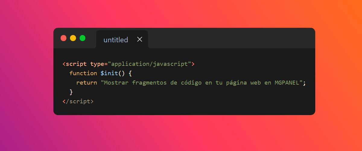 Mostrar fragmentos de código en tu página web
