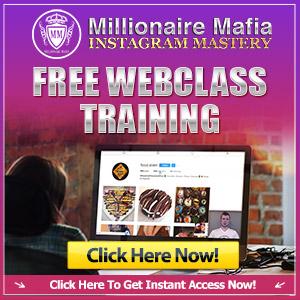 Millionaire Mafia Instagram Training Course