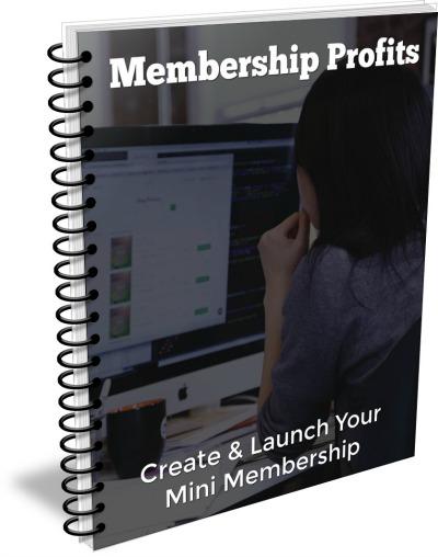 Membership Profits eCover