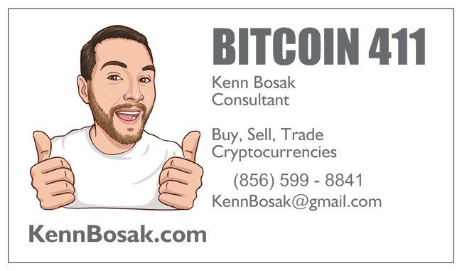 Kenn Bosak Business Card