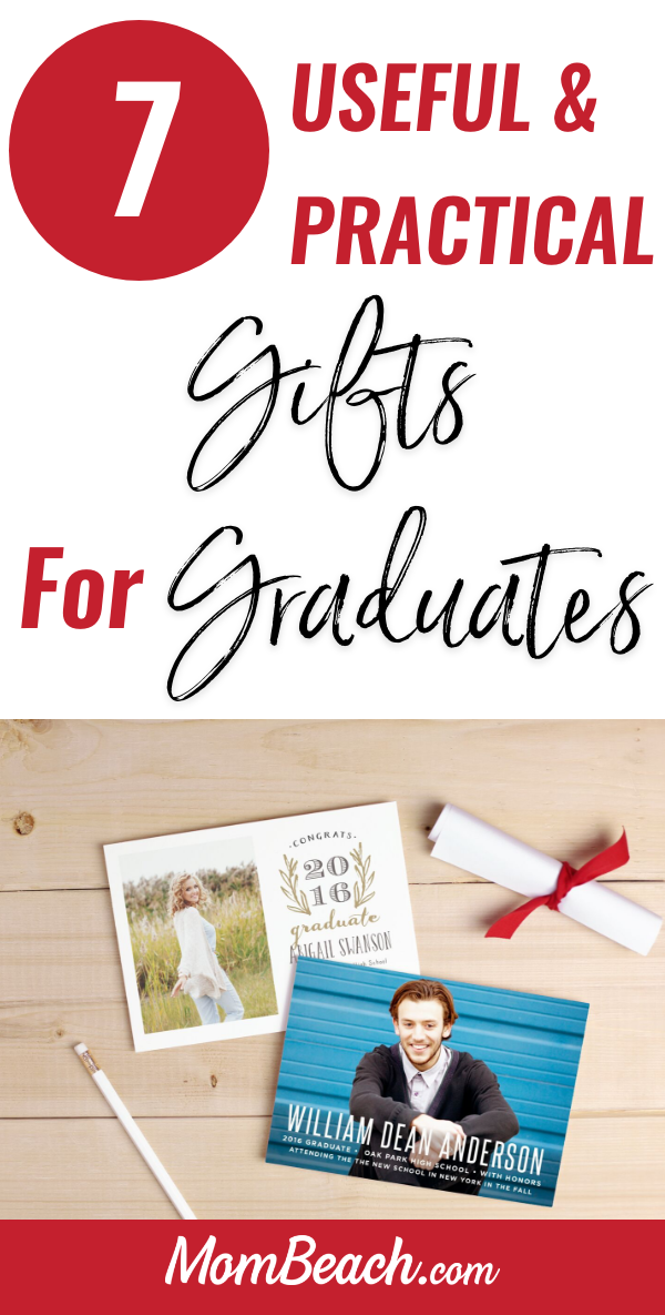 These useful and practical gifts for graduates actually help graduates. None of these graduate gift ideas are full of fluff, but are practical gifts. #graduationgifts #graduationgiftideas #practicalgraduationgifts #gradgifts #gradgiftideas #giftsforgraduates