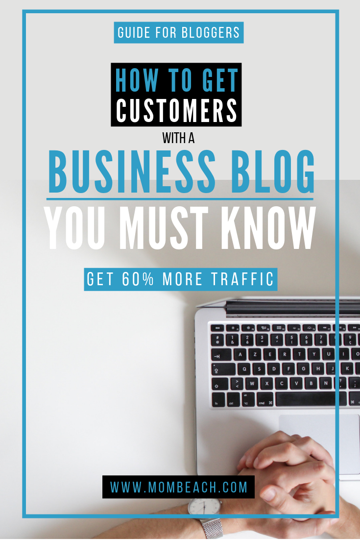 A business blog is great for marketing your small business. Having a business blog for your marketing can bring you 60% more customers in the long run. Marketing is easier with a business blog and you can get more blog traffic. #businessblog #businessblogmarketing #marketingforbusiness #businessblogtraffic #businessblogideas #bloggingforbusiness