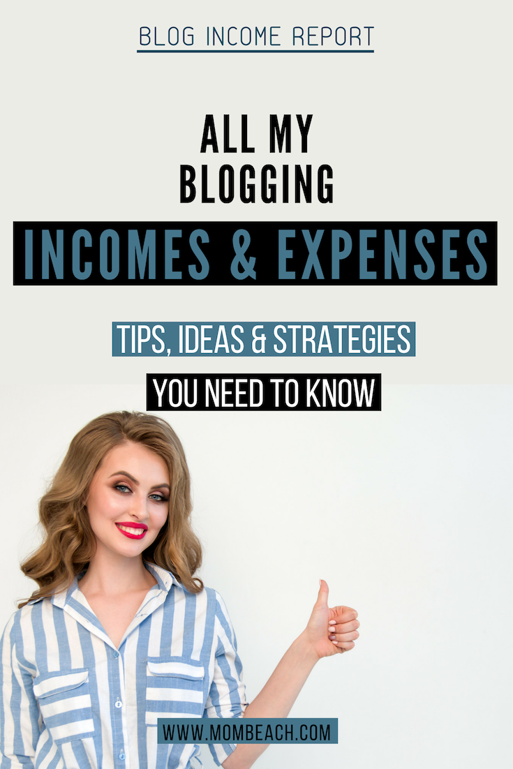 In this blog income report, I share my blog income and expenses with you. I like to be transparent in my blogging and side hustles with my audience. blog income reports help other bloggers learn so much about blogging such as new blogging ideas. #blogincomereport #incomereport #bloggingincomereport #incomereports #bloggingideas #ideasforblogs #bloggingreports