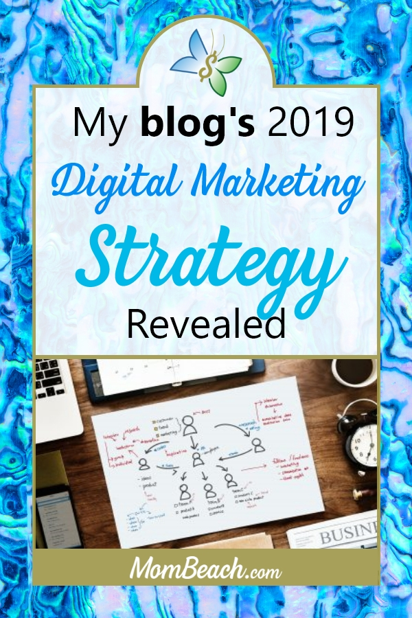 Create your own digital media strategy for your blog and business by checking out mine for 2019. It is so easy to make a digital media strategy so get started today.