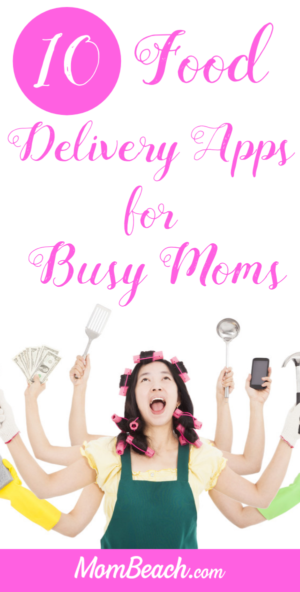 These food delivery apps are sure to help you if you are a busy mom! Check them out today to save time when preparing meals for your family. #fooddeliveryapps #fooddeliverynearme #fooddelivery #deliveryapps #moneysavingapps #timesavingapps #appsformoms #momapps #helpfulapps #apps