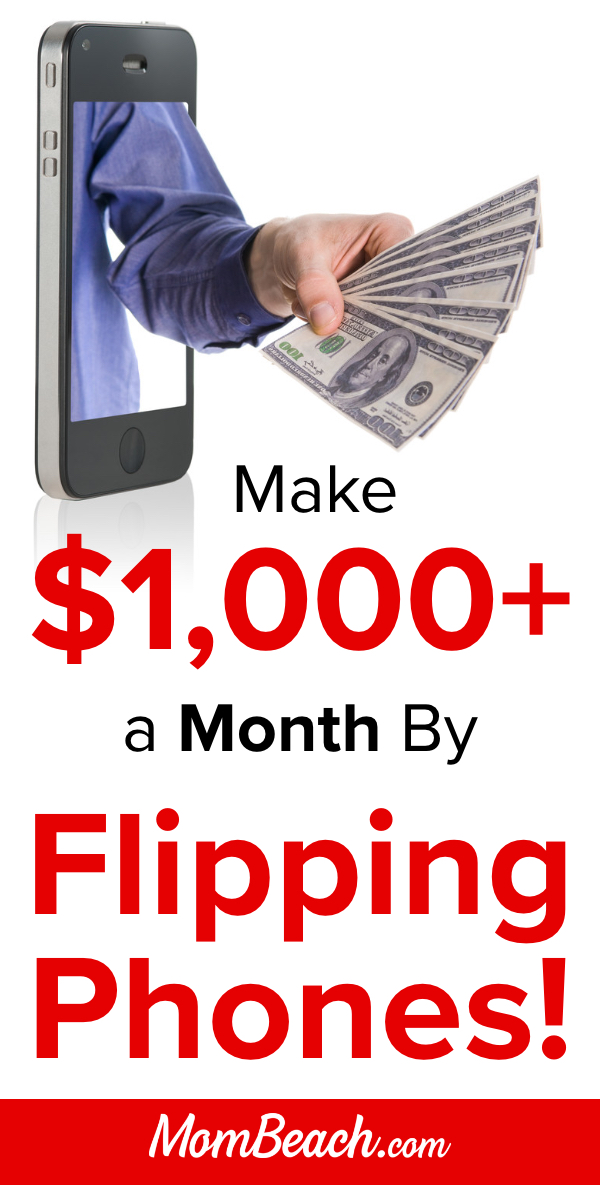 Flipping phones is a great way to earn money from home. By doing this side hustle, you can pay off debt and have more family vacations. Try this profitable way to make money online today from home. #phoneflipping #flippingphones #makemoneyonline #makemoneyfromhome #onlineearning #moneytips #sidehustles #moneyformoms #momjobs #stayathomemomjobs