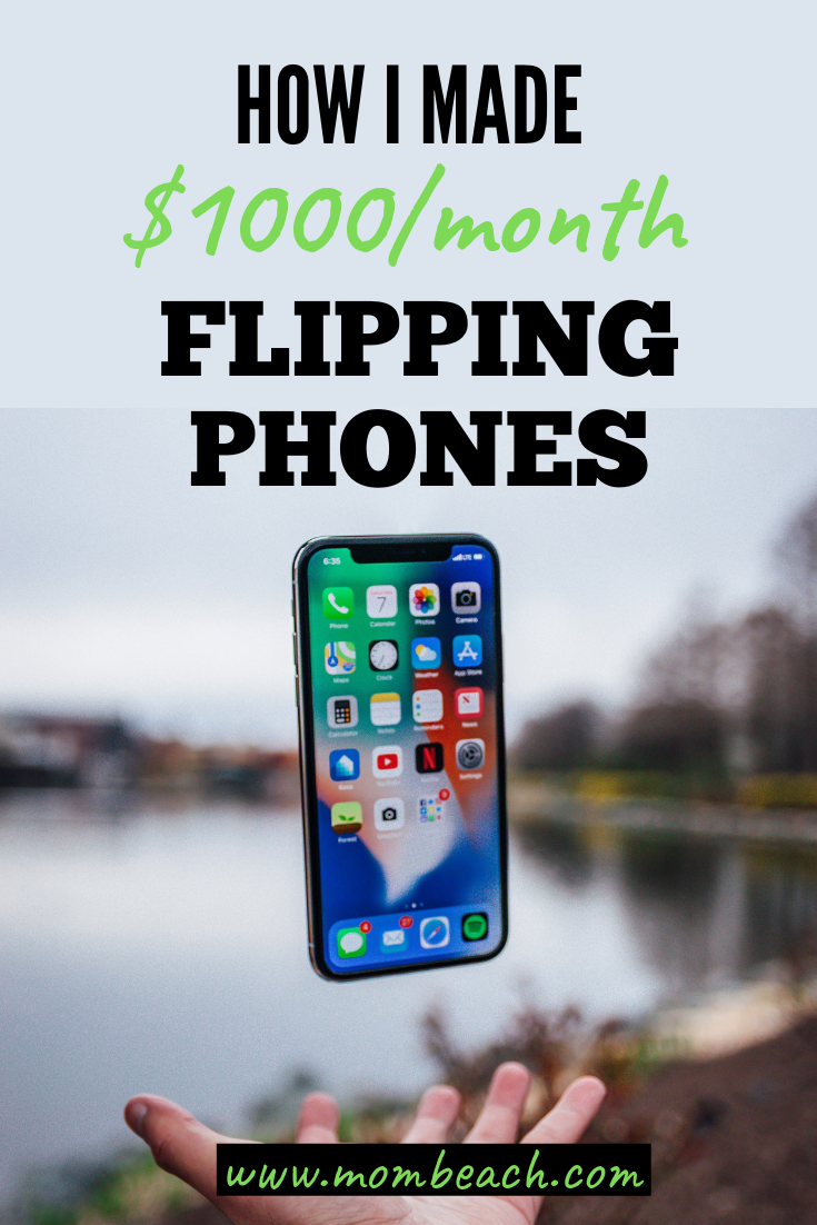 You can make money from home by flipping phones on Craigslist and eBay. Phone Flipping is a great way to earn extra cash in your spare time while taking care of your kids. #phoneflipping #flippingphones #makemoneyonline #makemoneyfromhome #onlineearning #moneytips #sidehustles #moneyformoms #momjobs #stayathomemomjobs