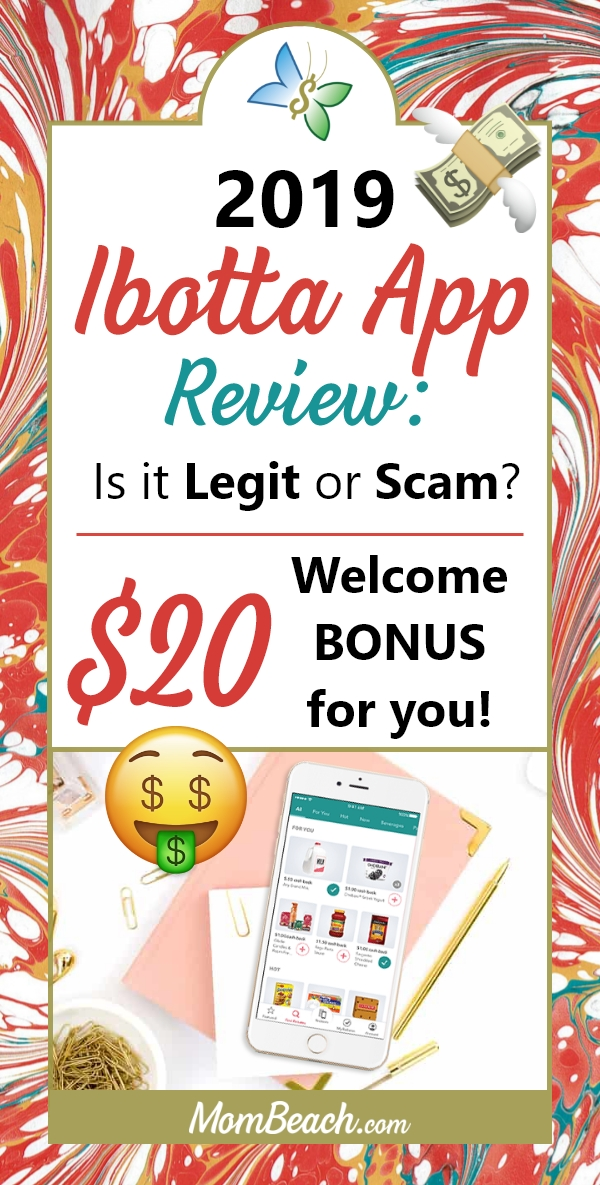 Check out this detailed review on Ibotta for the 2019 update. FREE $20 WELCOME BONUS! I provide pros and cons, how to use the app and more. #ibotta #ibottaapp #moneysavingapps #savemoney #moneymakingapps #grocerybudgeting #grocerybudget #budgeting #ibottareview #freemoney #makemoney #moneyearningapps #earnmoney