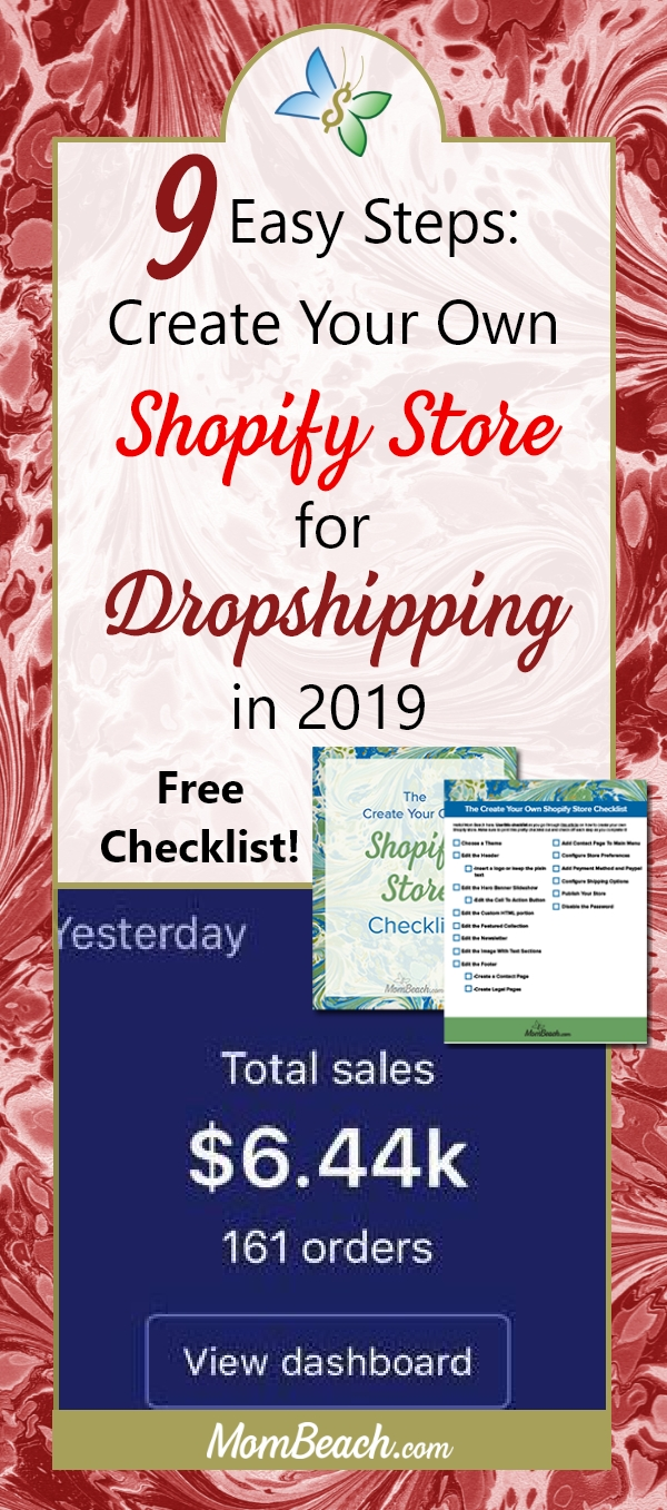 It is so easy to start your own Shopify store with dropshipping in order to make money from home. Use this detailed article on how to get started with dropshipping today. #moneytips #makemoney #moneyonline #earnonlineincome #makemoneyonline #momblog #mompreneur #entrepreneur #money
