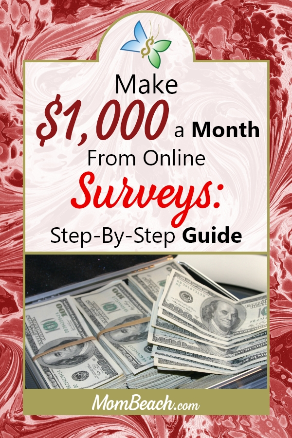 Do you want to make more money online? With paid surveys you can! Use these detailed tips on how to make up to $1k a month using online surveys. It is quick and easy to make money online. #moneytips #moneyonline #surveys #makemoney #money #paidsurveys #finance #christmasmoney #moneyforchristmas
