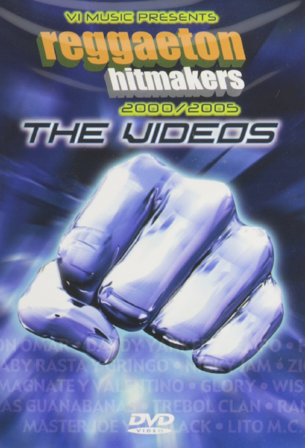 REGGAETON HITMAKERS - VARIOS INTERPRETES DVD - DVD