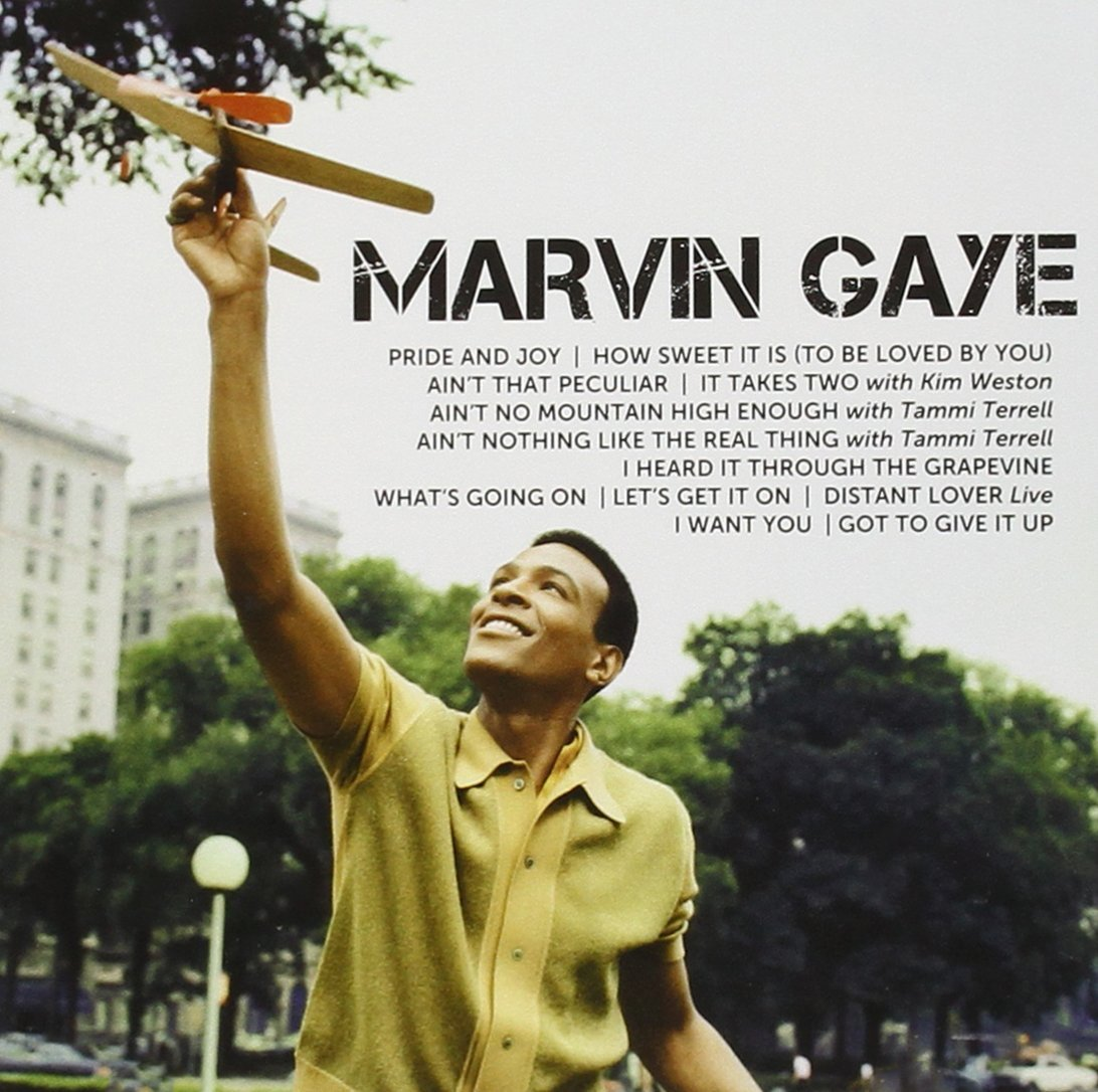 gaye marvin icon cd