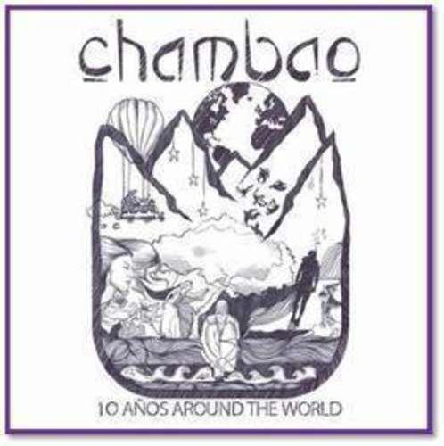 chambao 10 años around the world cd x 2