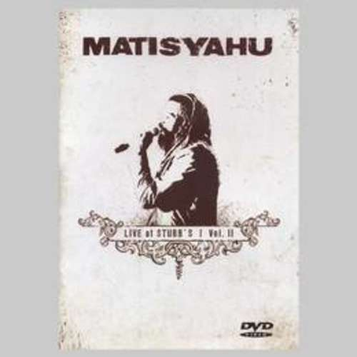 MATISYAHU - LIVE AT STUBB'S VOL 2 DVD - DVD