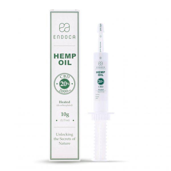 Hemp Oil Paste Extract – 2000mg CBD Endoca