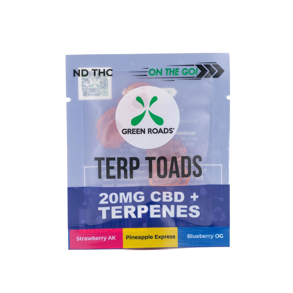 CBD Terp Toads – 20 MG Green Roads CBD