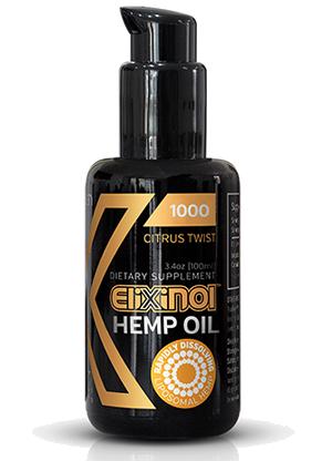Hemp Oil Liposomes 1000mg – Citrus Twist Elixinol