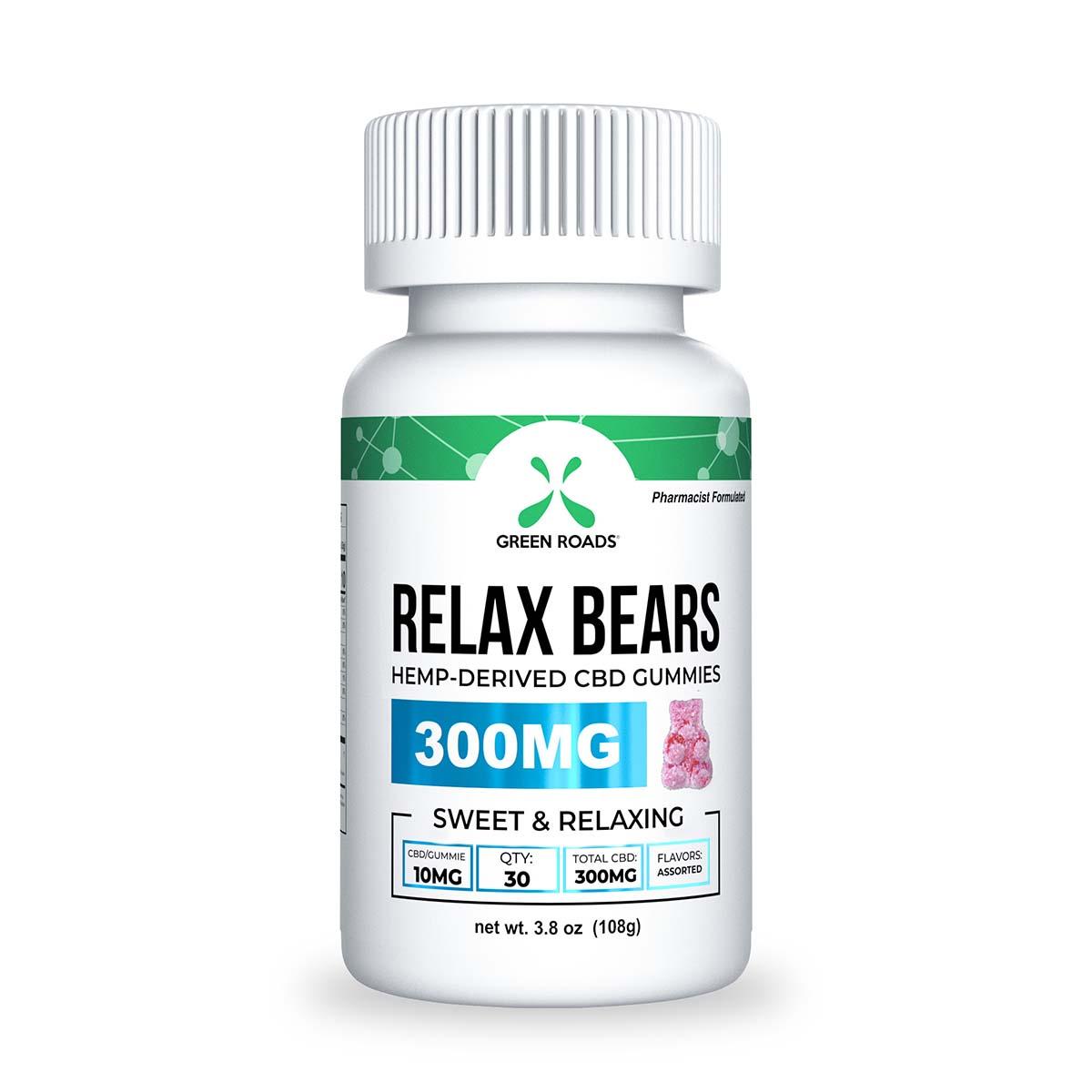 CBD Gummy Bears – 300 MG Green Roads CBD