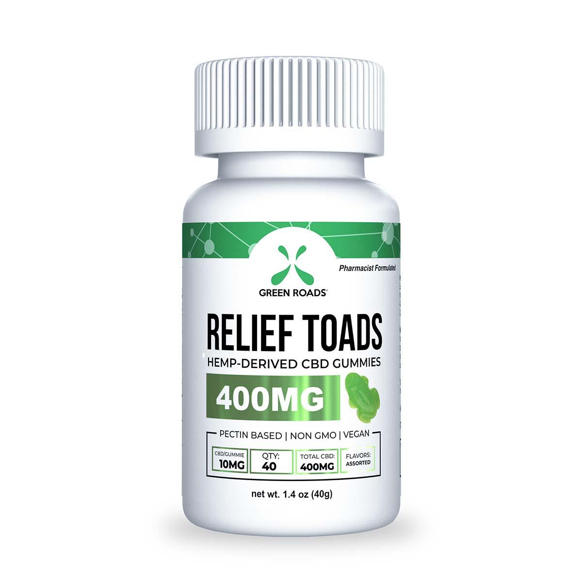 CBD Relief Toads – 400 MG Green Roads CBD