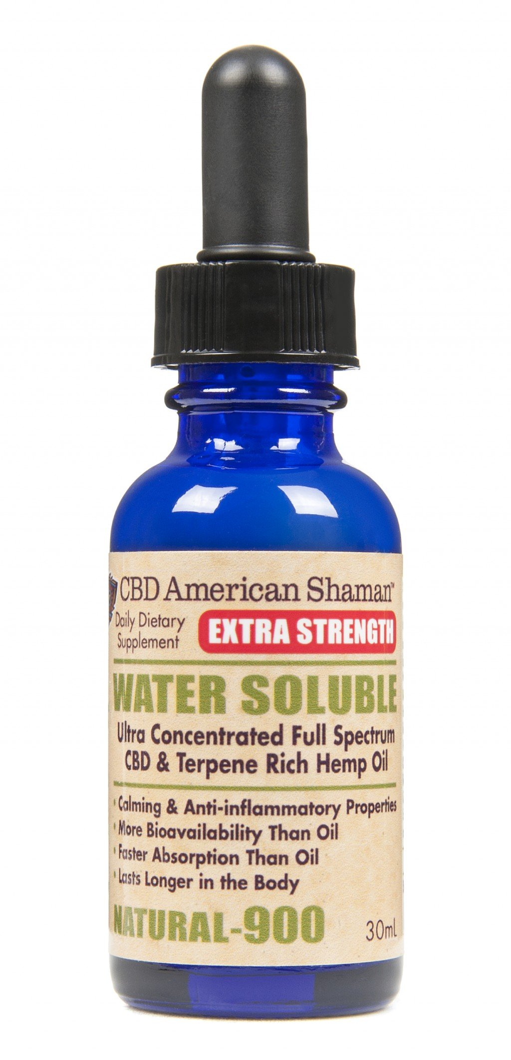 CBD Extra Strength Water Soluble American Shaman