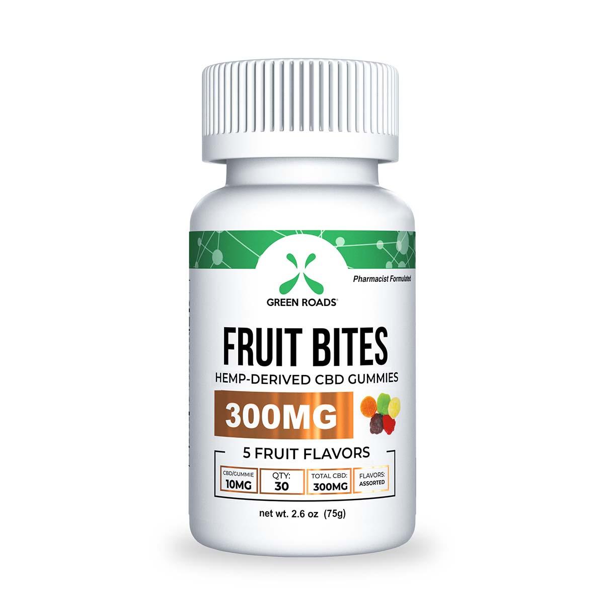CBD Fruit Bites – 300 MG Green Roads CBD
