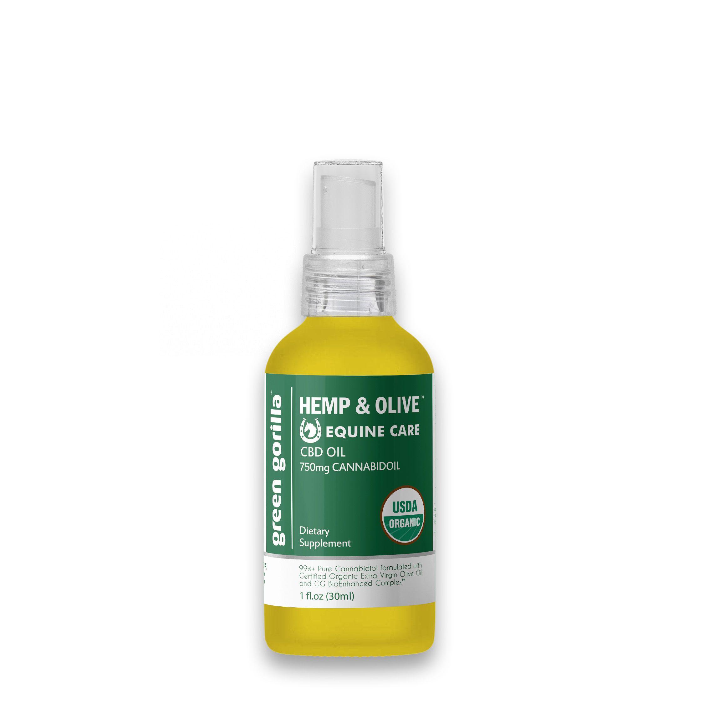 CBD Oil For Horses 750 mg Green Gorilla