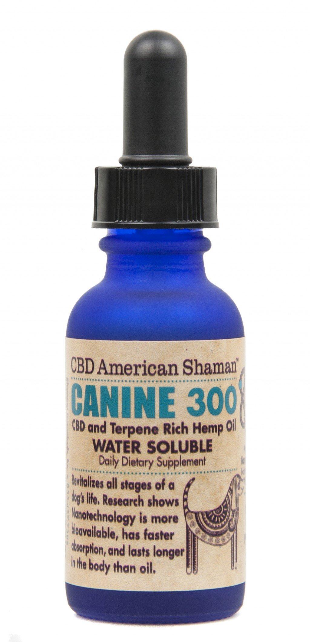 Canine CBD And Terpene Rich Hemp Oil Water Soluble American Shaman