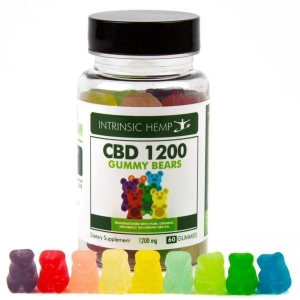 CBD Gummies – 1200 MG Intrinsic Hemp