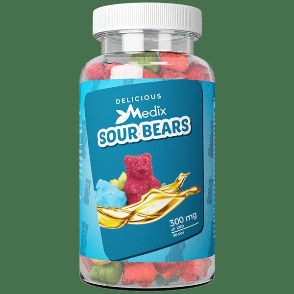Medix CBD Gummies – CBD Infused Sour Gummy Bears Medix CBD