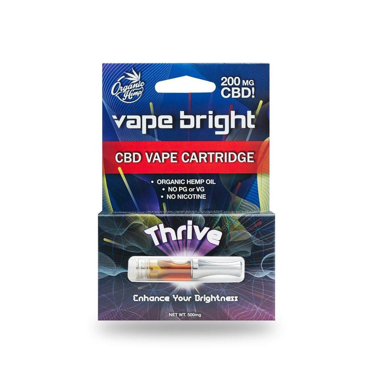 THRIVE CBD VAPE CARTRIDGE – 200MG Vape Bright