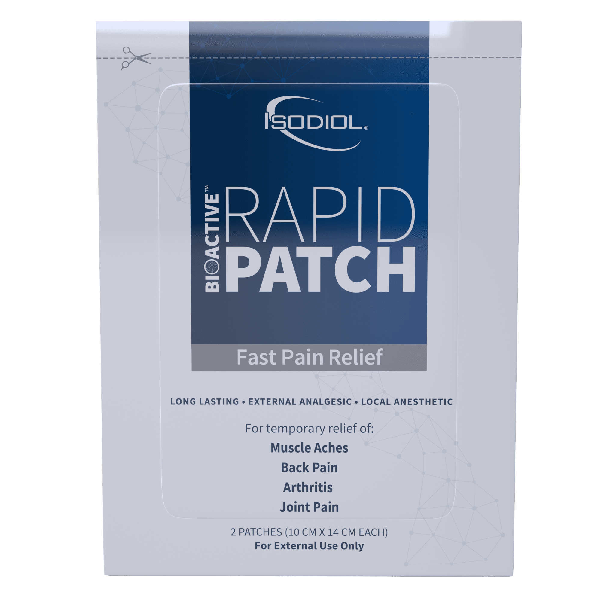 Bioactive Rapid Patch™ Isodiol