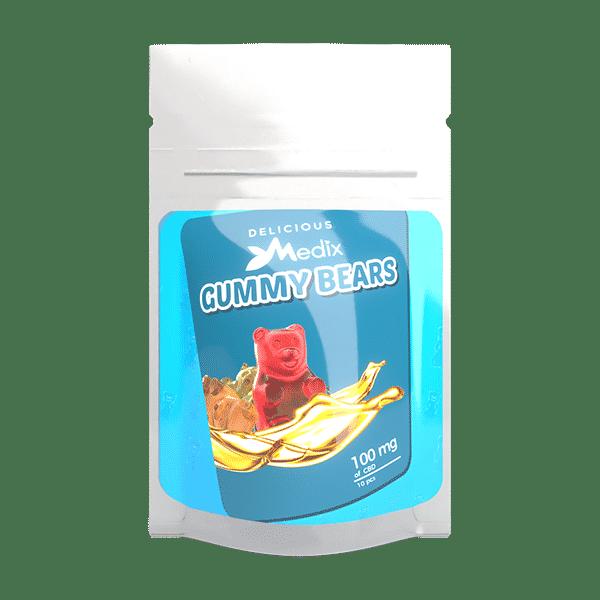 Medix CBD Gummies – CBD Infused Gummy Bears Medix CBD
