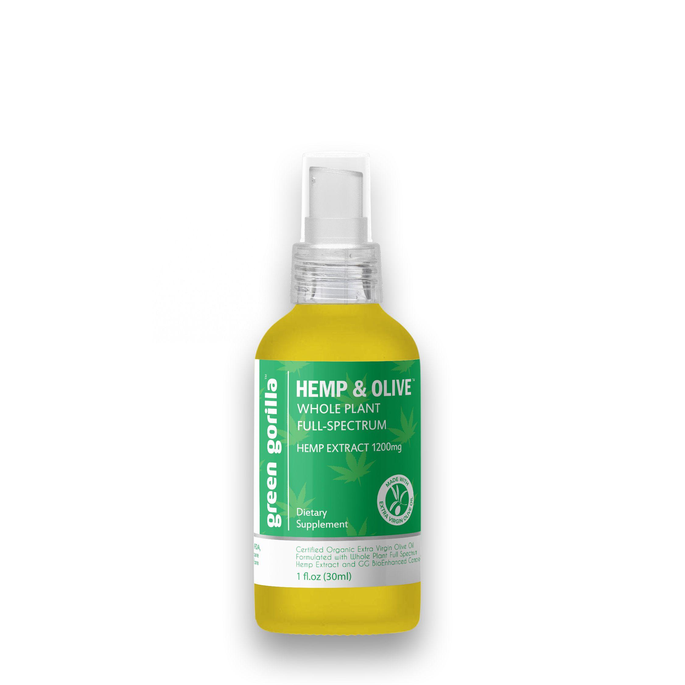 Full Spectrum CBD Oil 1200 mg Green Gorilla