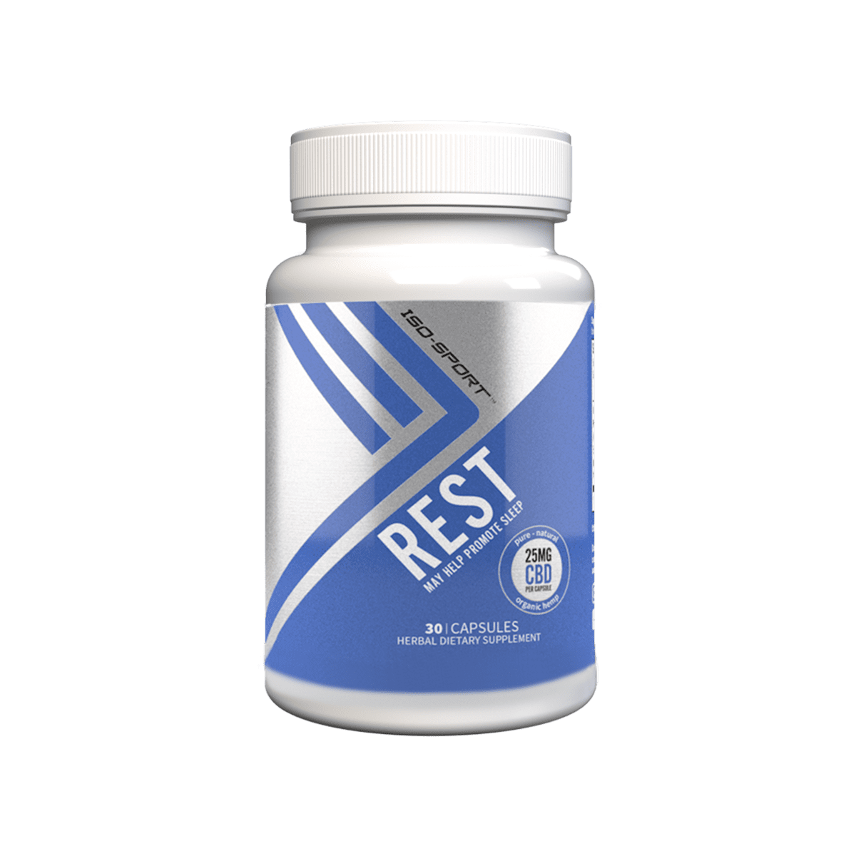 Iso-Sport Rest CBD Capsules Isodiol