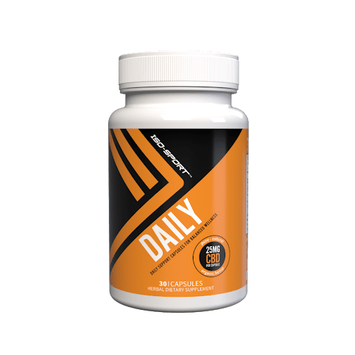 Iso-Sport Daily CBD Capsules Isodiol