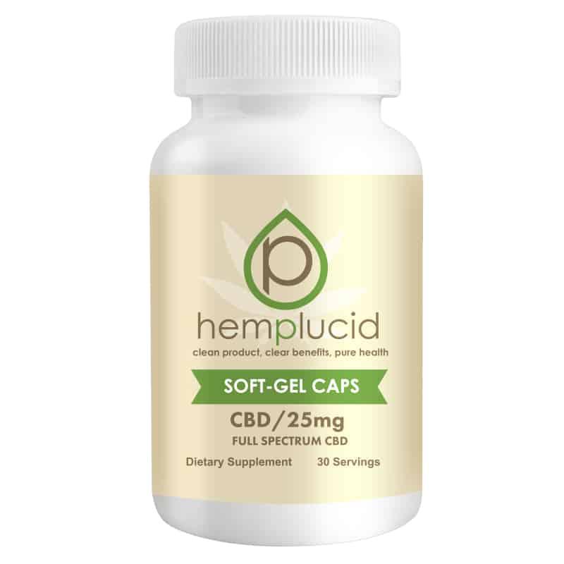 HEMPLUCID SOFT-GEL CBD Hemplucid