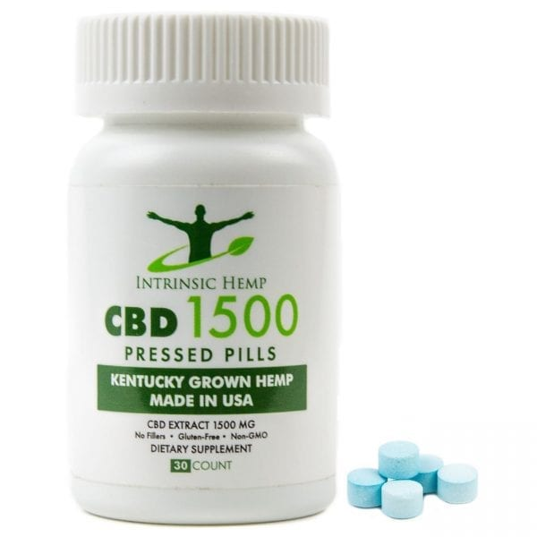 CBD Pills – 1500 MG Intrinsic Hemp
