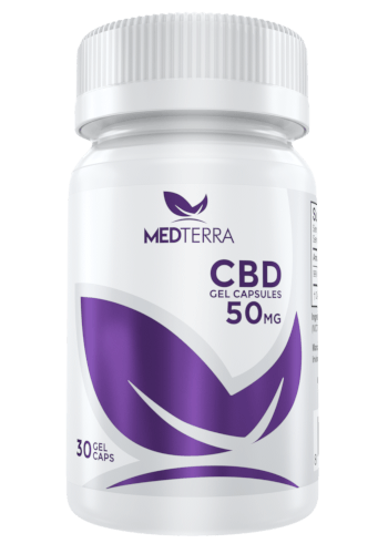 CBD Gel Capsules (30 Count) Medterra