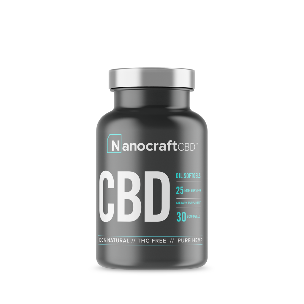 NanoCraft CBD™ - Full Spectrum CBD Oil Softgels Nano Craft CBD