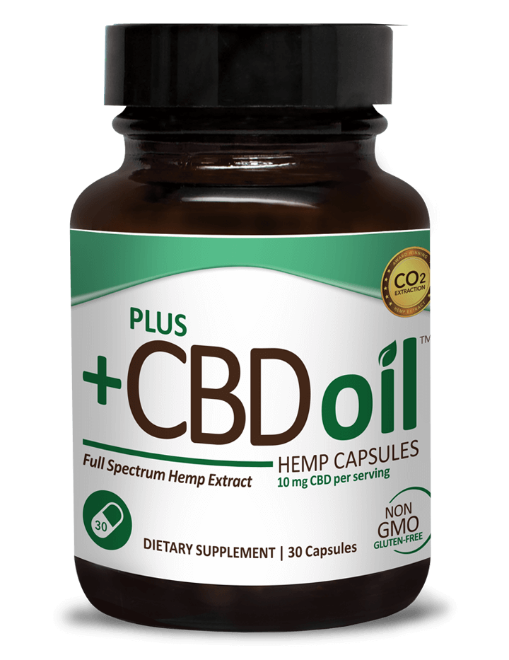 CBD OIL CAPSULES Plus CBD Oil
