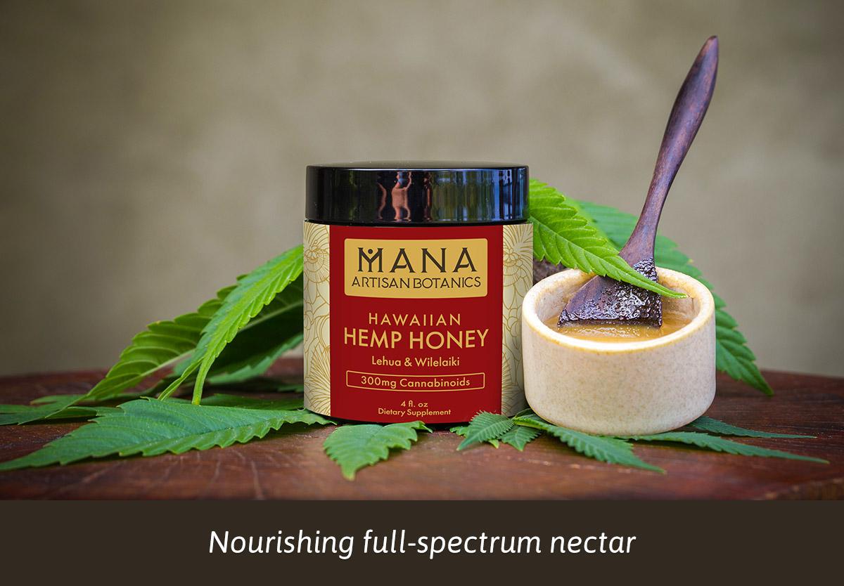 Hemp Honey: Lehua & Wilelaiki Mana Artisan Botanics