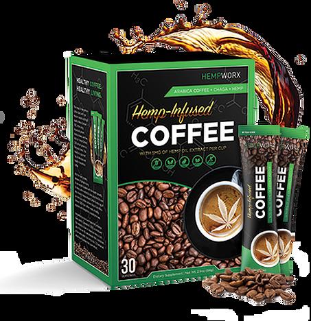 CBD Hemp Infused Coffee HempWorx