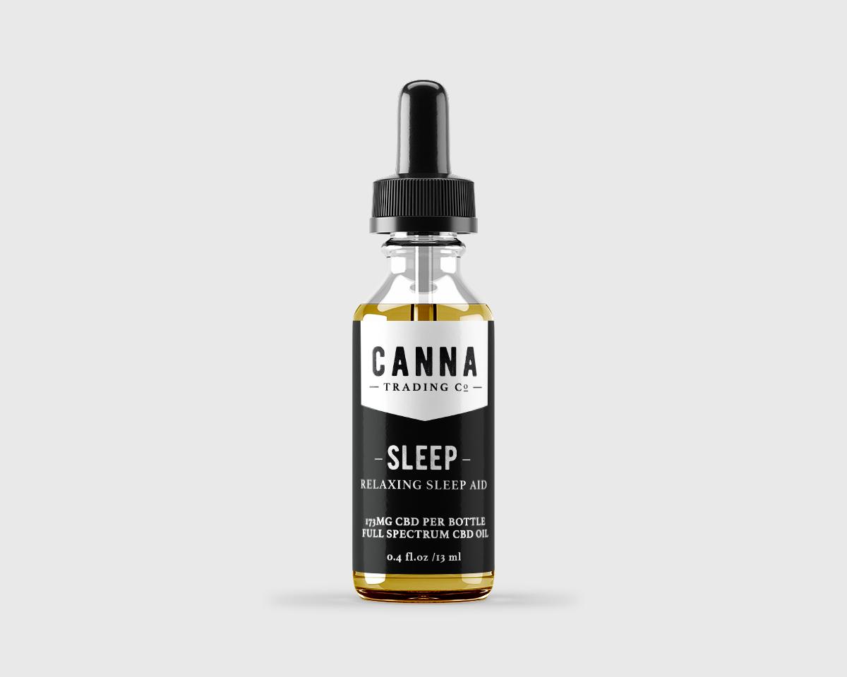 CBD SLEEP AID TINCTURE – NEW SAMPLE SIZE Canna Trading Co.