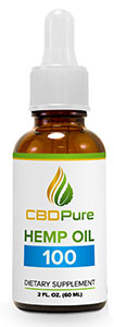 CBDPure Hemp Oil 100 CBD Pure