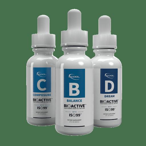 Bioactive Adaptogenic Herbal Tincture™ Balance Isodiol