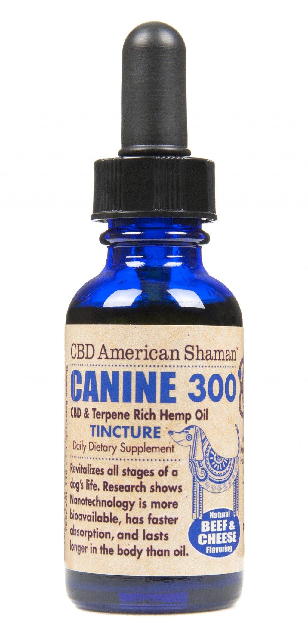 Canine CBD Hemp Oil Tincture American Shaman