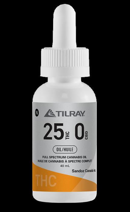 25:0 THC Oil Tilray