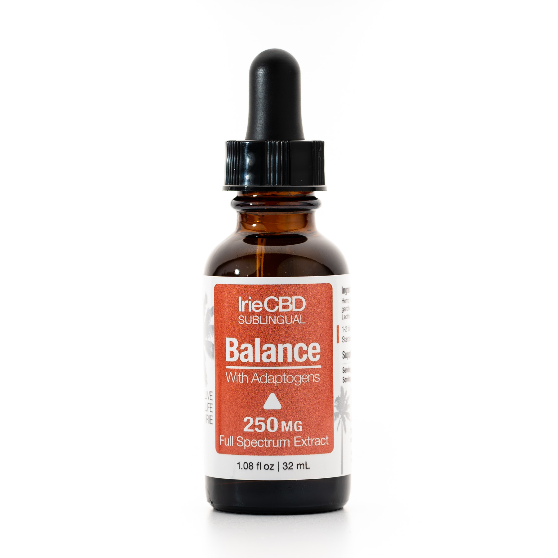 Balance 250mg CBD Oil Tincture Irie CBD