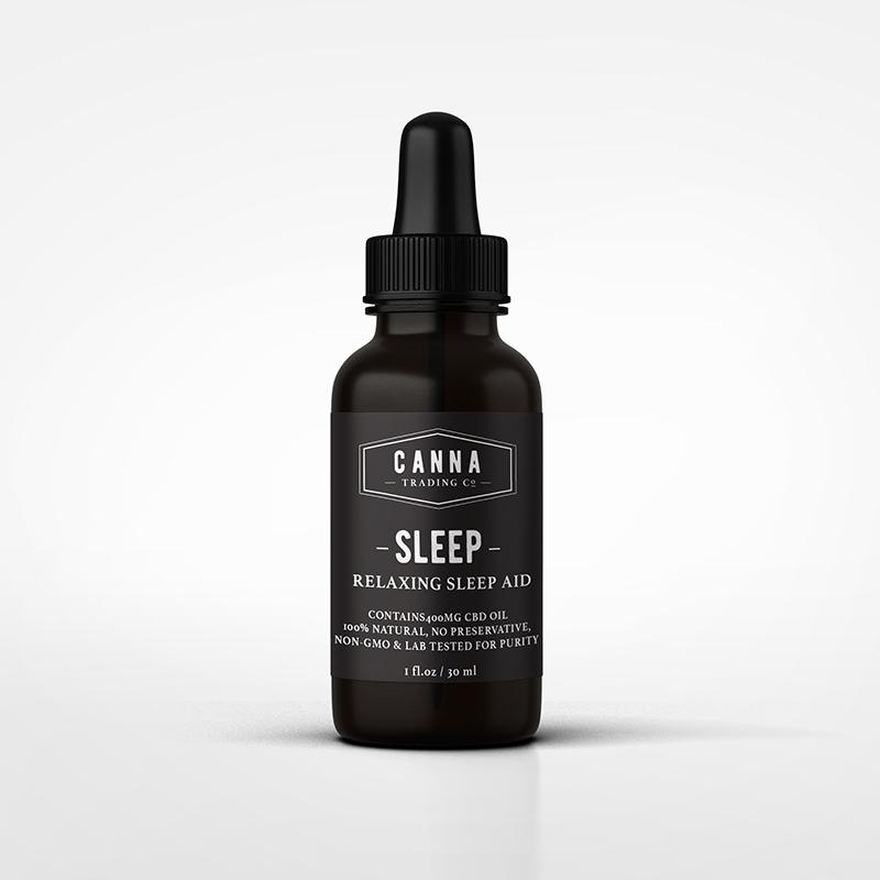 CBD SLEEP AID TINCTURE Canna Trading Co.