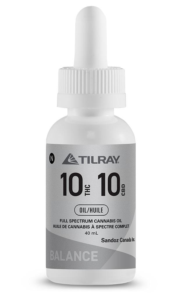 10:10 Balance Oil Tilray